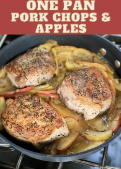 pork chops and apples recipe