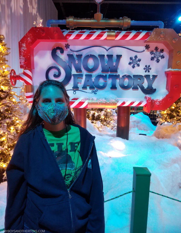 gaylord palms snow factory