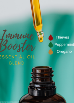 immune booster essential oils blend