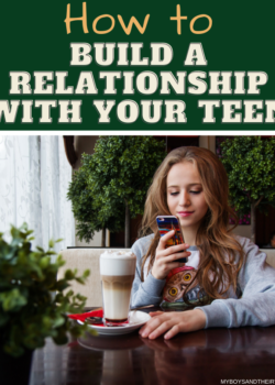teenage years building a relationship
