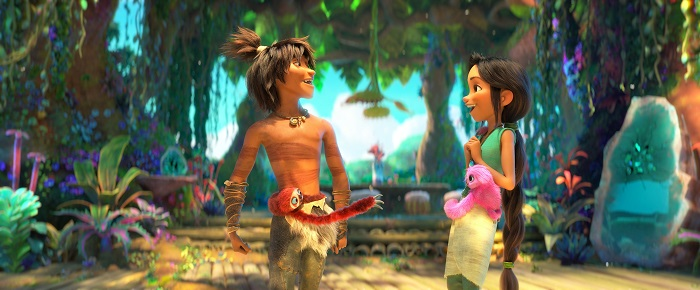 The Croods 2 guy and eep