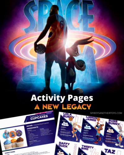 space jam a new legacy printables
